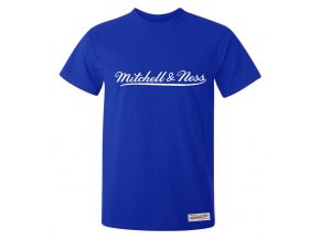 Mitchell & Ness Tailored Tee Royal Blue