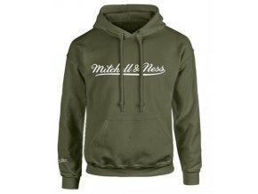 Mitchell & Ness Script Logo Olive