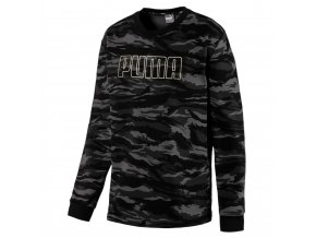 Puma Camo Crew FL Black-Gold