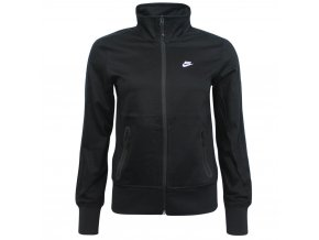 Nike Zip Up Football Black