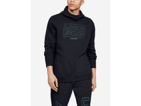 Under Armour Baseline Fleece Po Hood-Blk