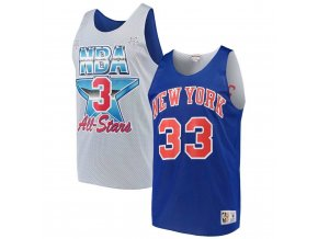 Mitchell & Ness NY Knicks Patrick Ewing White Blue