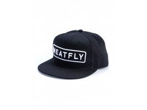 Meatfly Spon Snapback B - Black