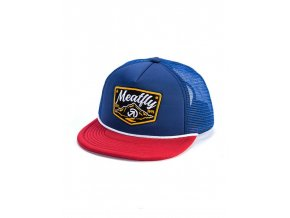 Meatfly Clancy Trucker D - Navy, Red