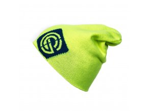 Nugget Logo 3 Reversible beanie 17 B - Safety yellow/blue