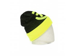 Meatfly Cinch 2 Beanie A - Black, Safety Yellow