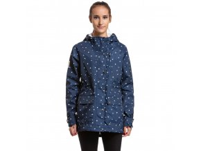 Meatfly Xita Windbreaker F - Navy Birds