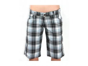 MEATFLY Lilly W Light Grey Plaid C