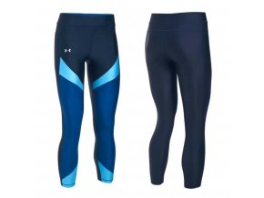 Under Armour Heatgear Colour Block Navy
