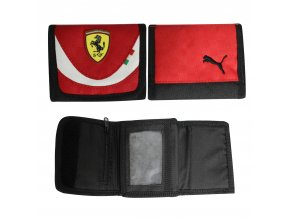 Puma Ferrari Hook & Loop Red-Black