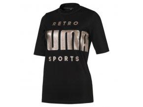 Puma Retro Tee Black