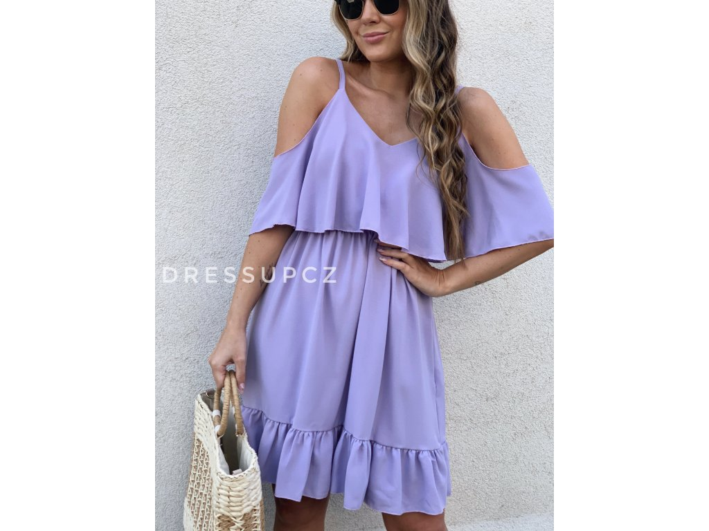 Vzdušné šaty Amber