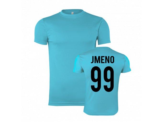 sportovní trička sv. modra vlasni jmeno