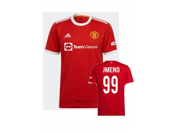 Fotbalový dres adidas Manchester United s vlastním jménem