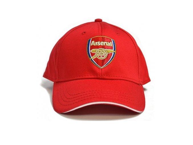 Kšiltovka Arsenal červená 2015/16