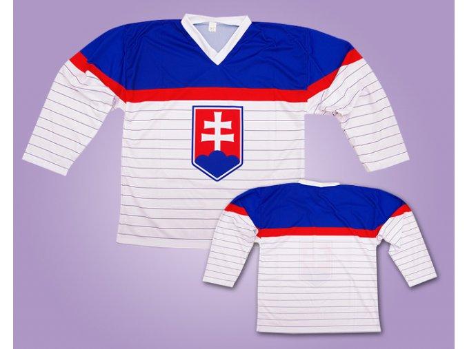 Hokejový dres Slovensko bílý