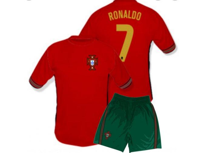 Fotbalový komplet Portugalsko RONALDO 2016/2017