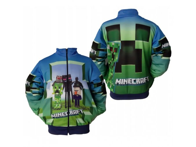 MIKINA MINECRAFT NEW