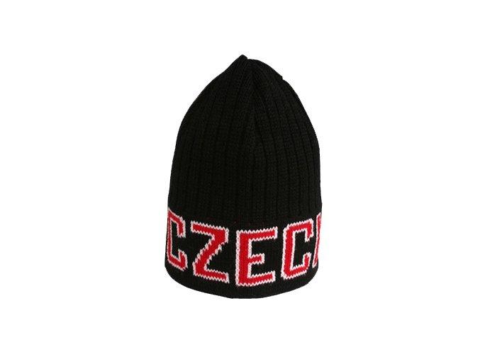 Zimní čepice - CZECH - černá