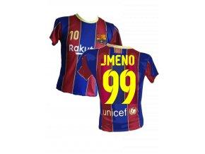 dres barcelona s vlasní potiskem