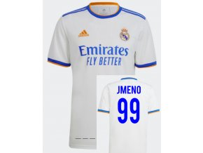 Fotbalový dres adidas Real Madrid s vlastním jménem