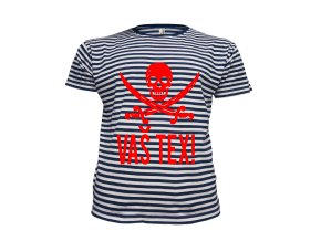 Námořnické tričko pirát se jménem