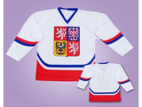 Hokejové dresy ČR bílé