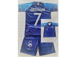 Fotbalový komplet Fracie Griezmann