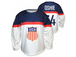 Hokejový dres USA bílý s vlastním jménem