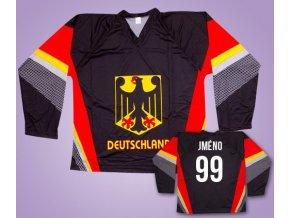 Hokejový dres Německo s vlastním jménem