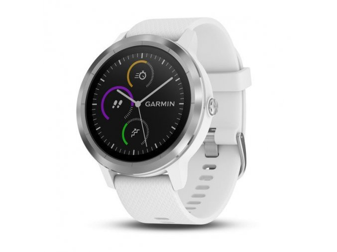 Garmin vívoActive3 Optic Silver, White band, Black band
