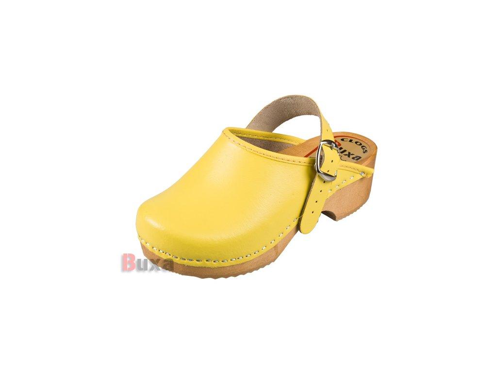 Detské Dreváky DZPP Žlté