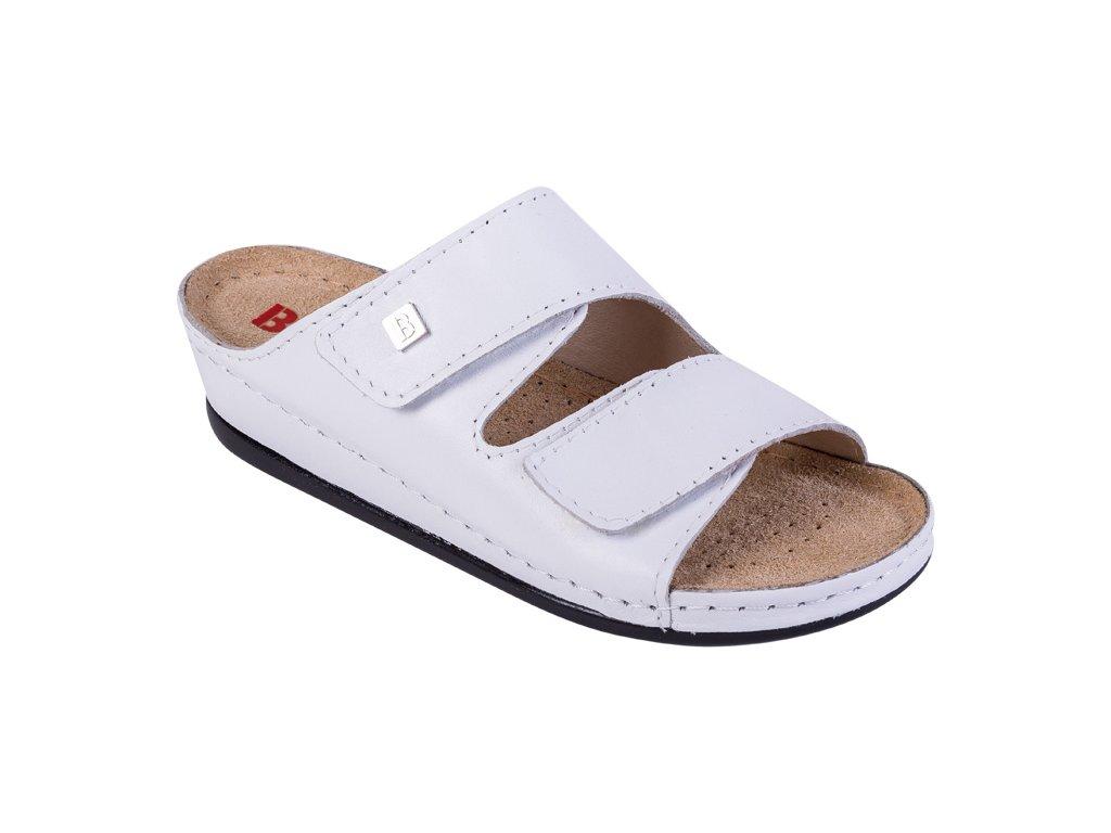 72b1830020cf Zdravotná obuv BZ210 - Biela - Dreváky Buxa
