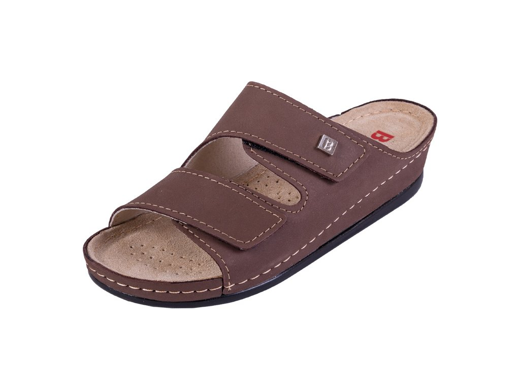 Zdravotná obuv BZ210 - Tmavý Nubuk