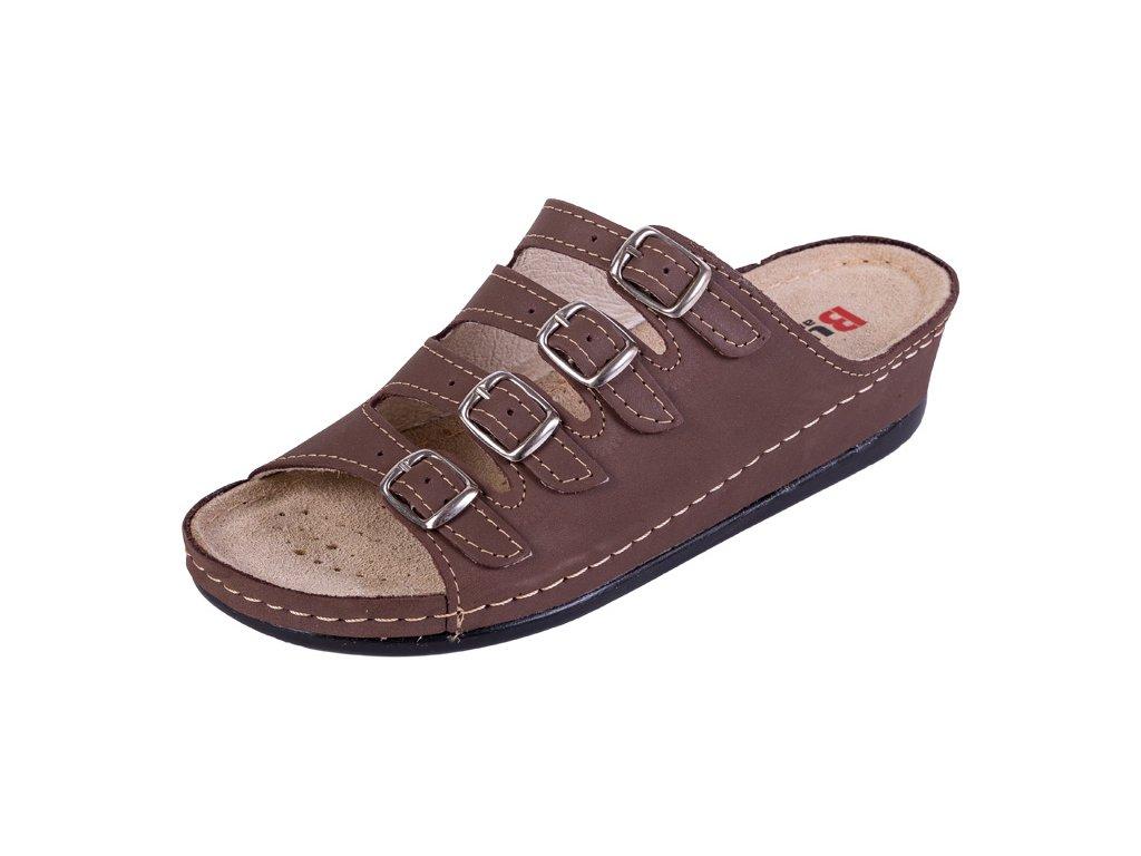 Zdravotná obuv BZ220 - Tmavý Nubuk