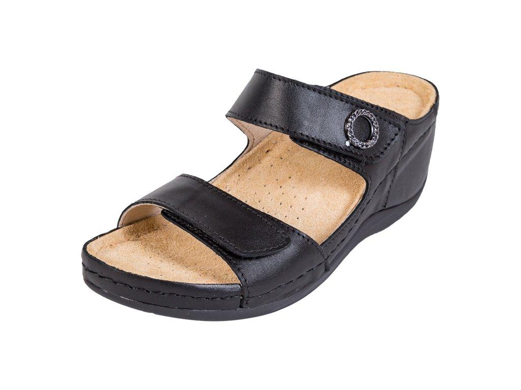 Zdravotná obuv BZ310 - Čierna