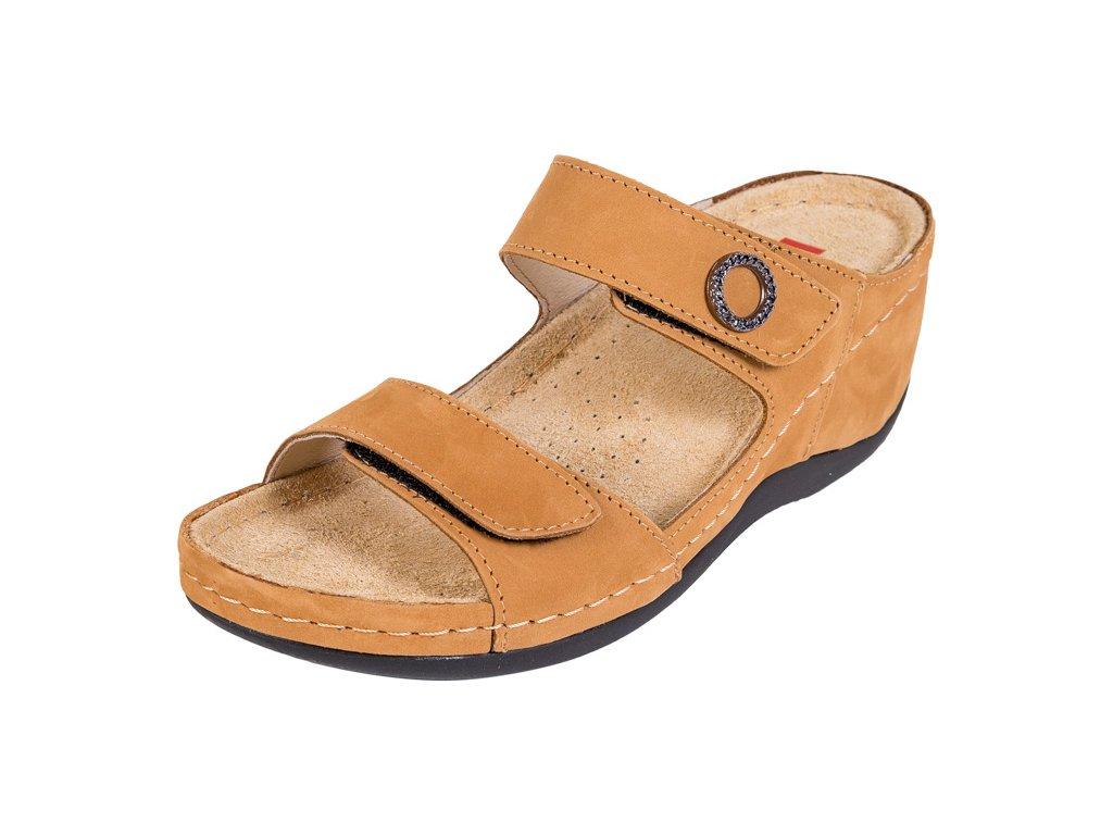 Zdravotná obuv BZ310 - Medový Nubuk