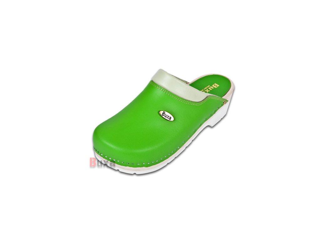 Dreváky Na Gumenej Podrážke SuperKomfort FPU10 Zelené