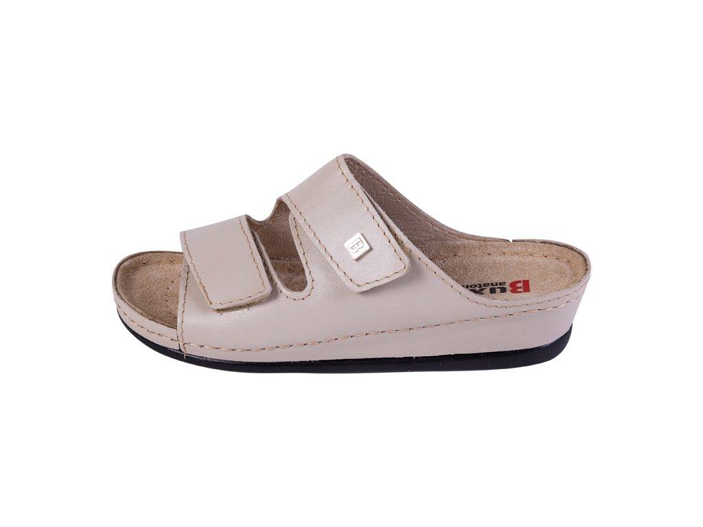 60404a8b6e79 Zdravotná obuv BZ210 - Béžová - Dreváky Buxa