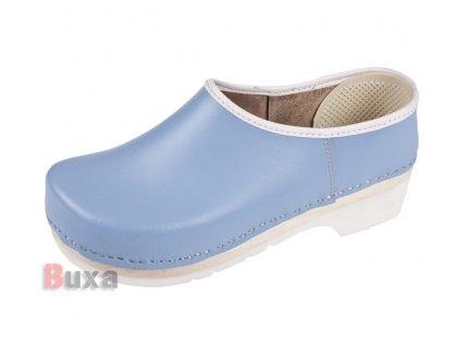 Drevákové Galoše Na Gumenej Podrážke SuperKomfort ZPU1 - Modré