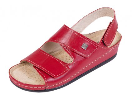 Zdravotná obuv BZ215 - Červená