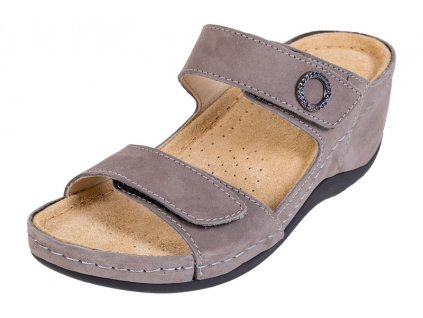 Zdravotná obuv BZ310 - Sivý Nubuk