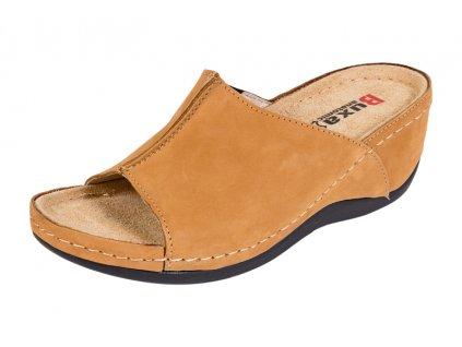 Zdravotná obuv BZ320 - Medový Nubuk