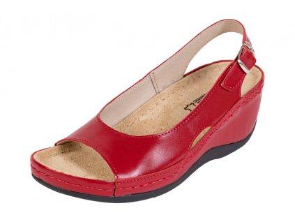 Zdravotná obuv BZ330 - Červená