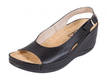 Zdravotná obuv BZ330 - Čierna