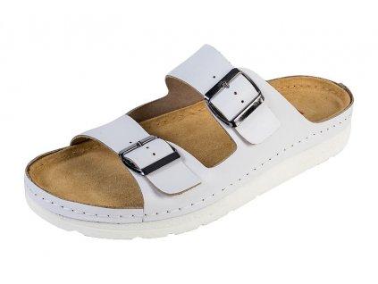 Pánska Zdravotná obuv BZ410 - Biela