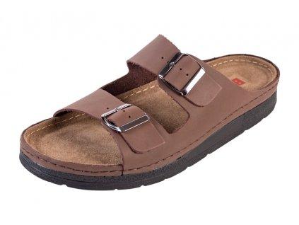 Pánska Zdravotná obuv BZ410 - Tmavý Nubuk