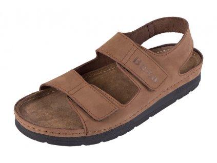 Pánska Zdravotná obuv BZ415 - Svetllý Nubuk