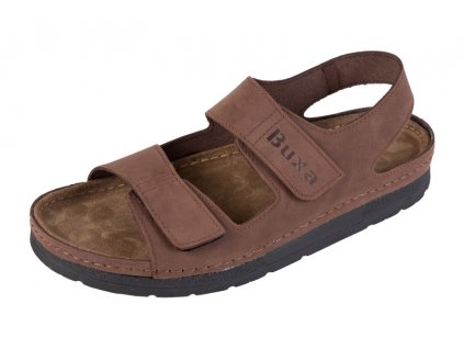 Pánska Zdravotná obuv BZ415 - Tmavý Nubuk