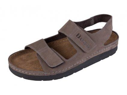 Pánska Zdravotná obuv BZ415 - Sivý Nubuk